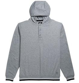 Footjoy FJ  Jersey Fleece Hoodie Grey Medium