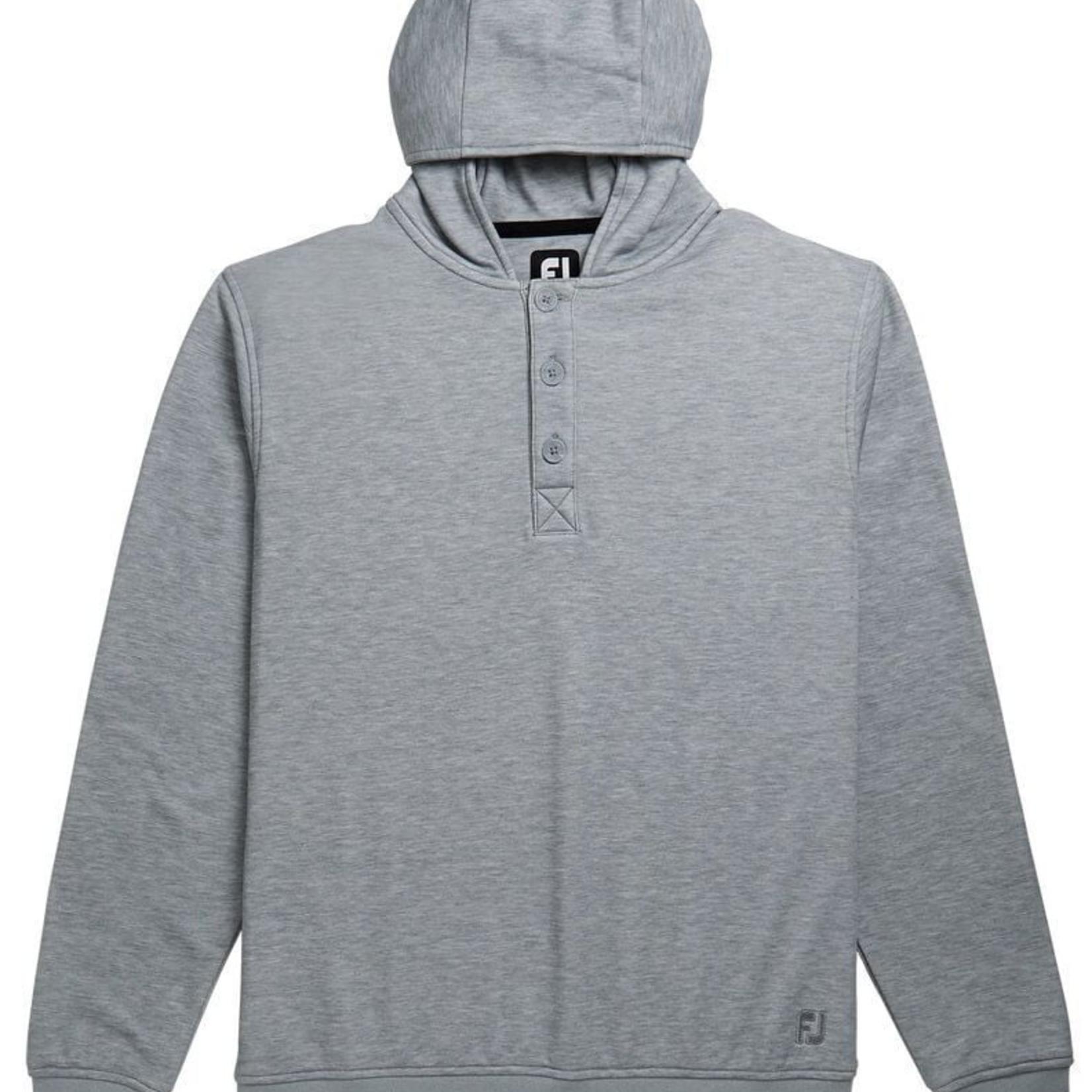 Footjoy FJ 25120 Jersey Fleece Hoodie Grey Medium