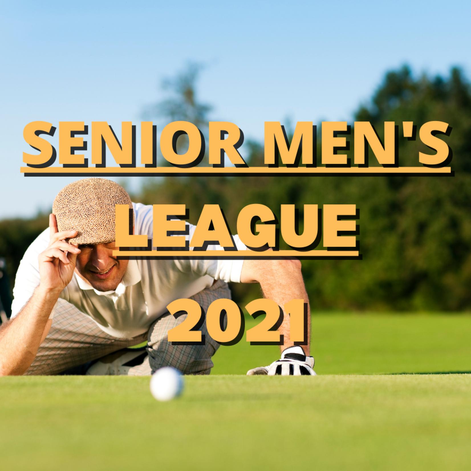 Senior Men's League 2021