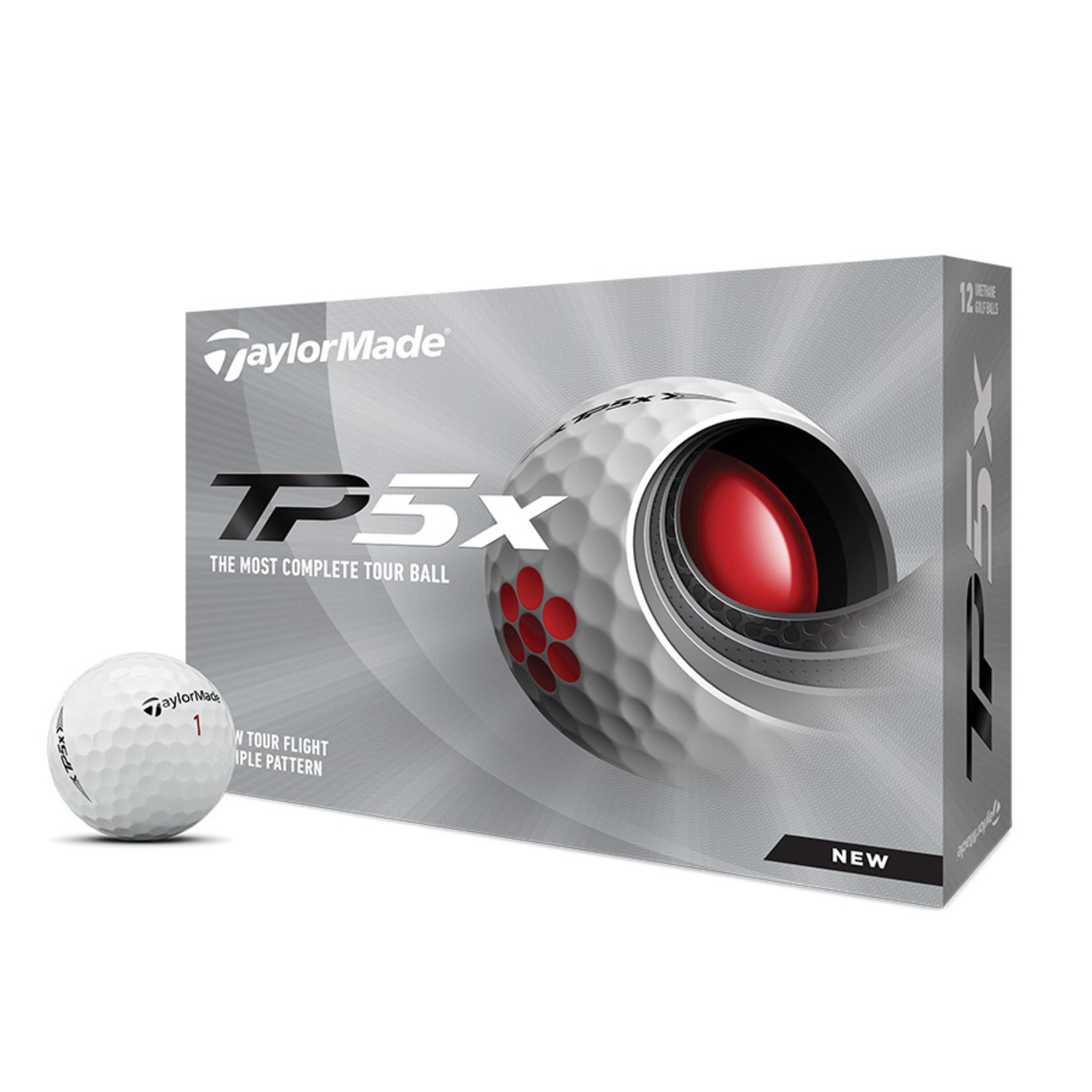 TaylorMade TM21 TP5x Dozen White
