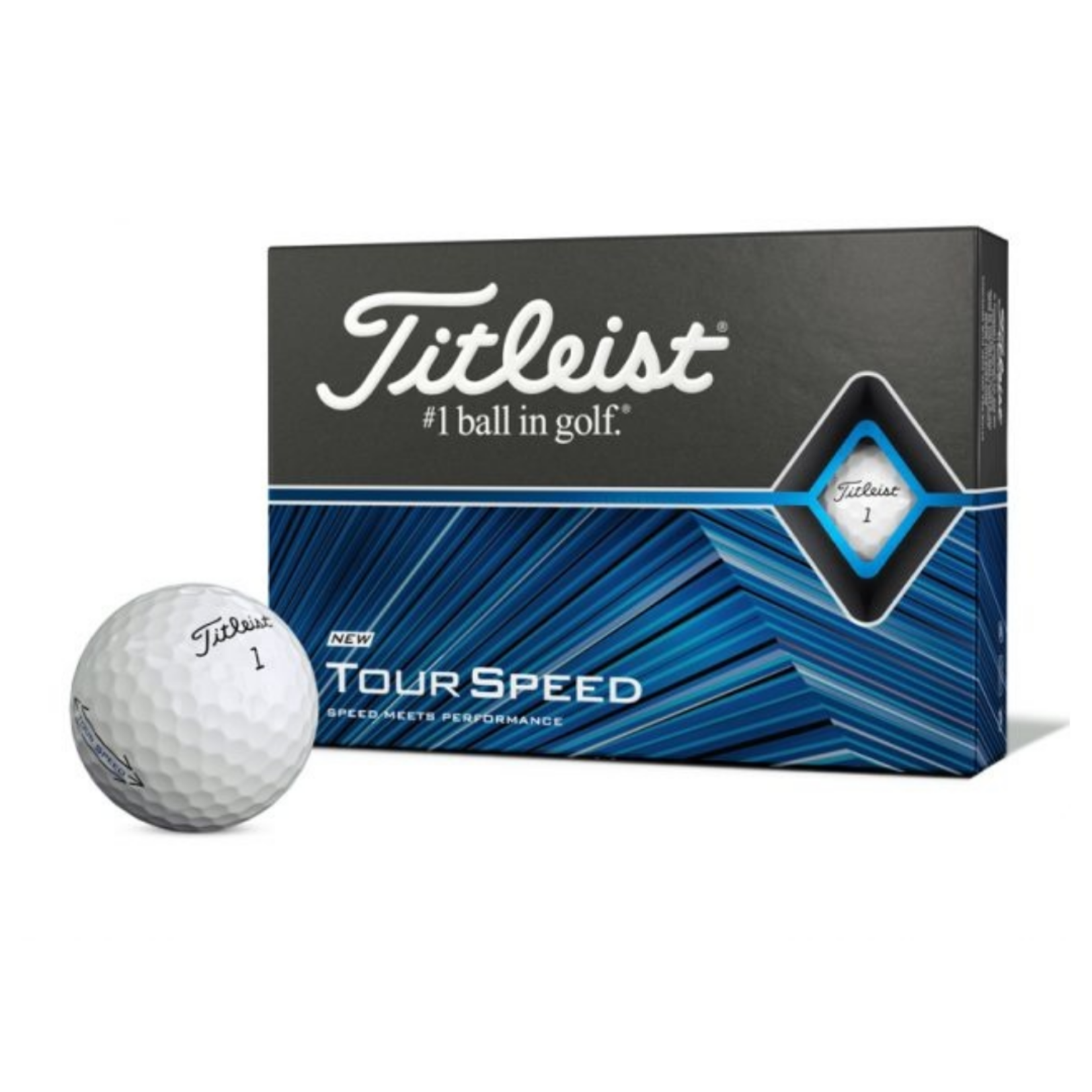 Titleist Titleist Tour Speed '21 Dozen