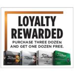 Titleist Titleist 2021 Loyalty Reward Program (Max. 1 Order Per Person)