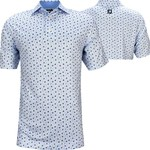 Footjoy FJ Lsl Daisy Print Self Collar Polo '21