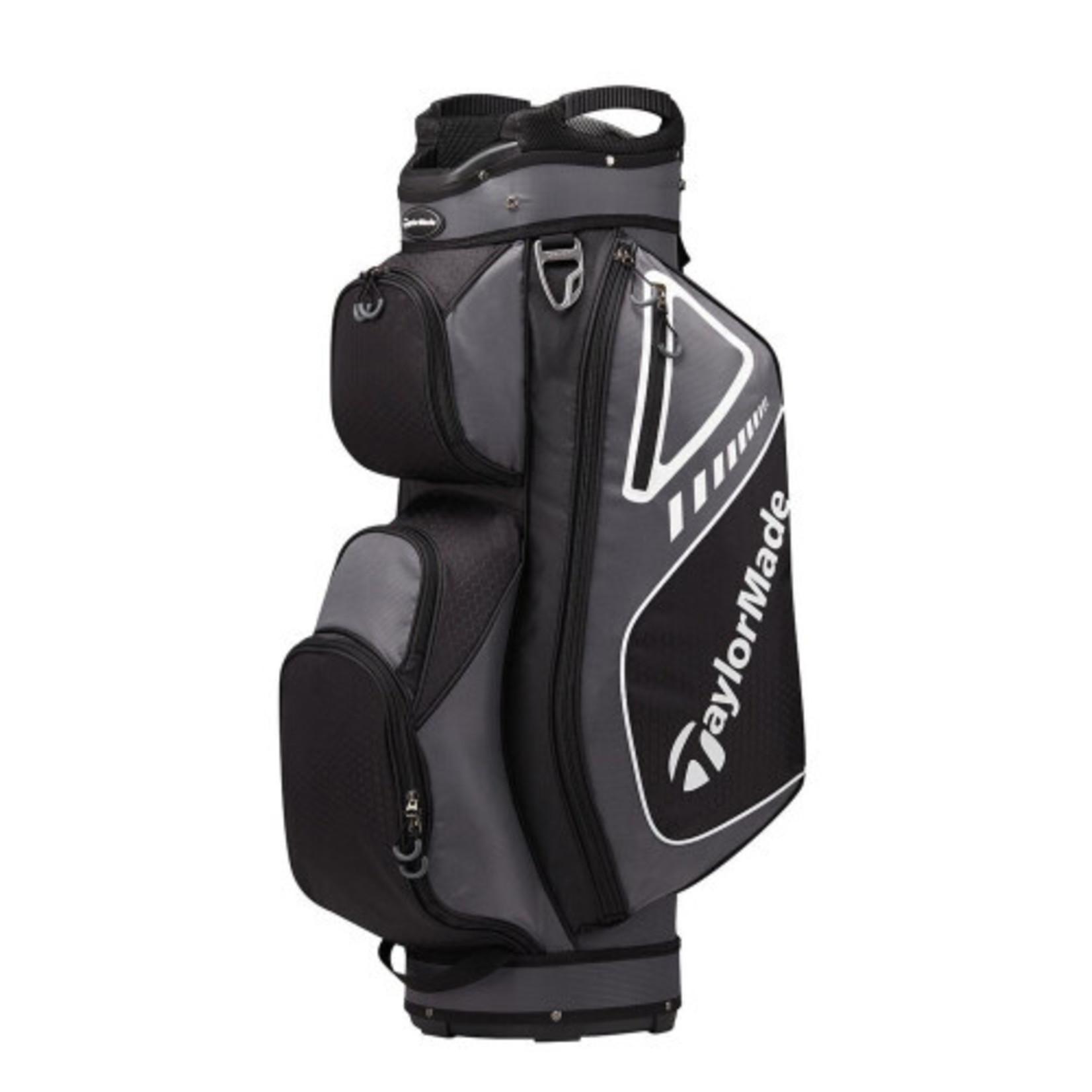 TaylorMade TM  Men's Select plus Cart Bag Gray/BLK