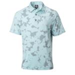 Footjoy FJ Lsl Camo Floral Print Self Collar Polo '21