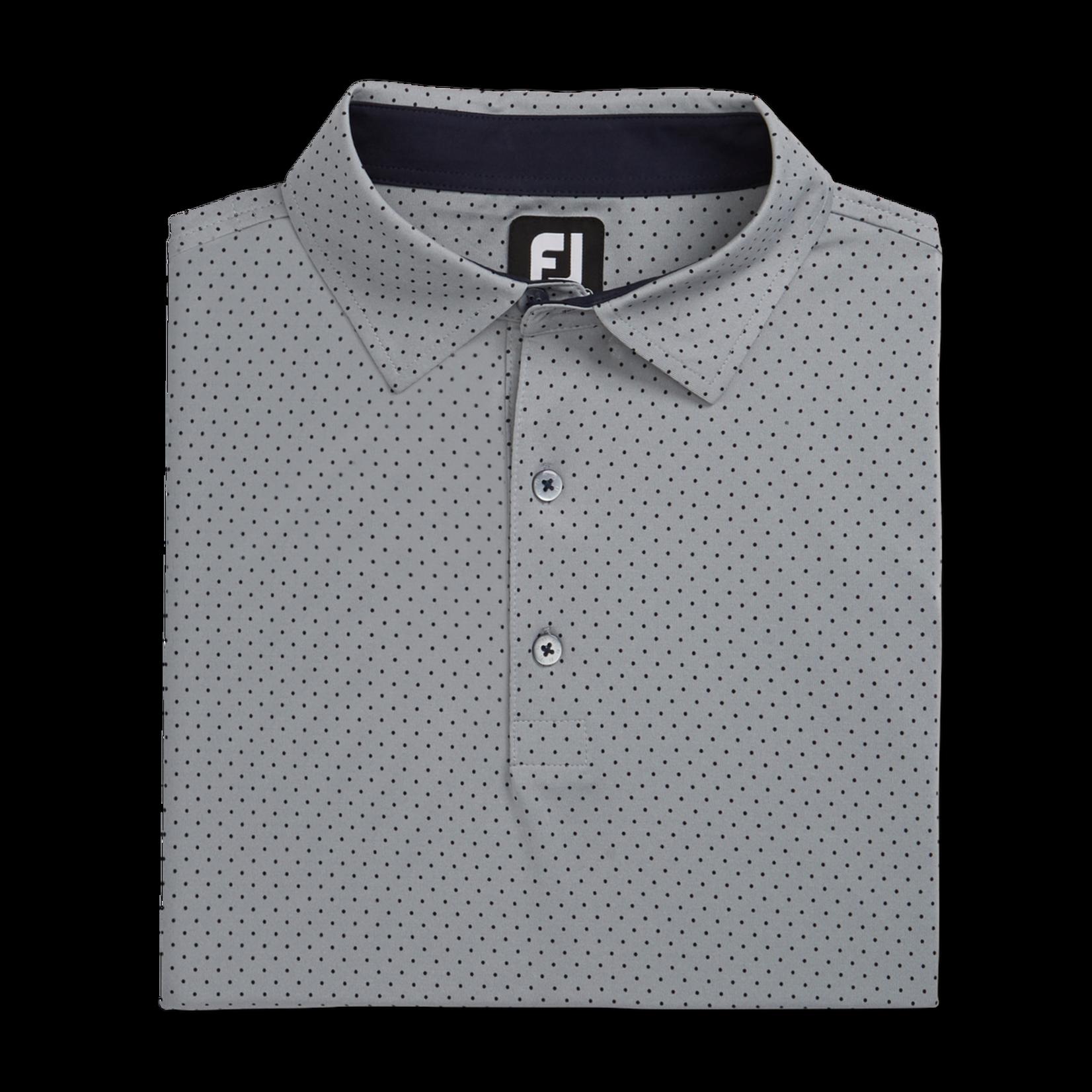 Footjoy FJ Stretch Lsl Dot Print Polo '21