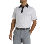 Footjoy FJ Lsl MultiDot Self Collar Polo '21