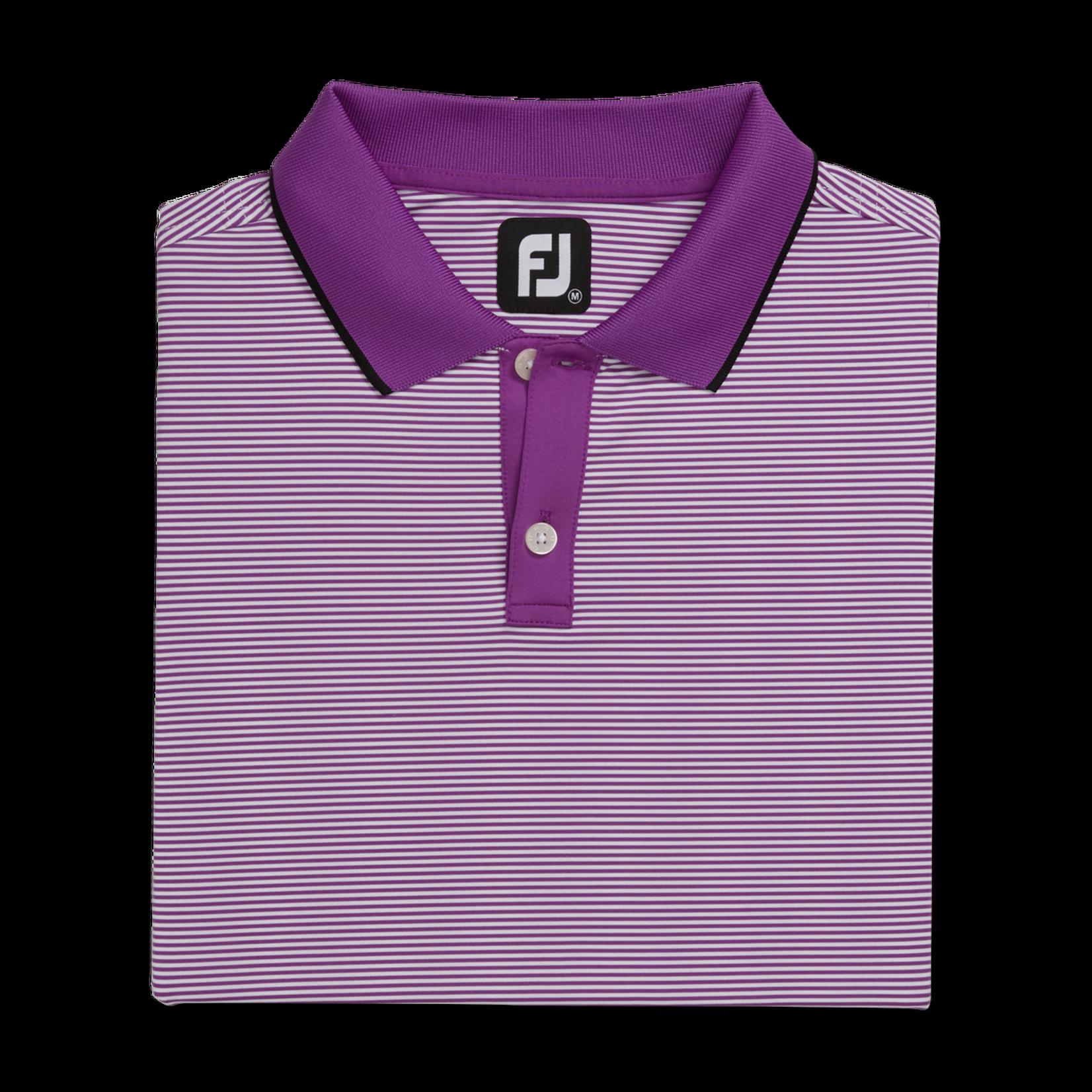 Footjoy FJ Mini Stripe Knit Polo '21