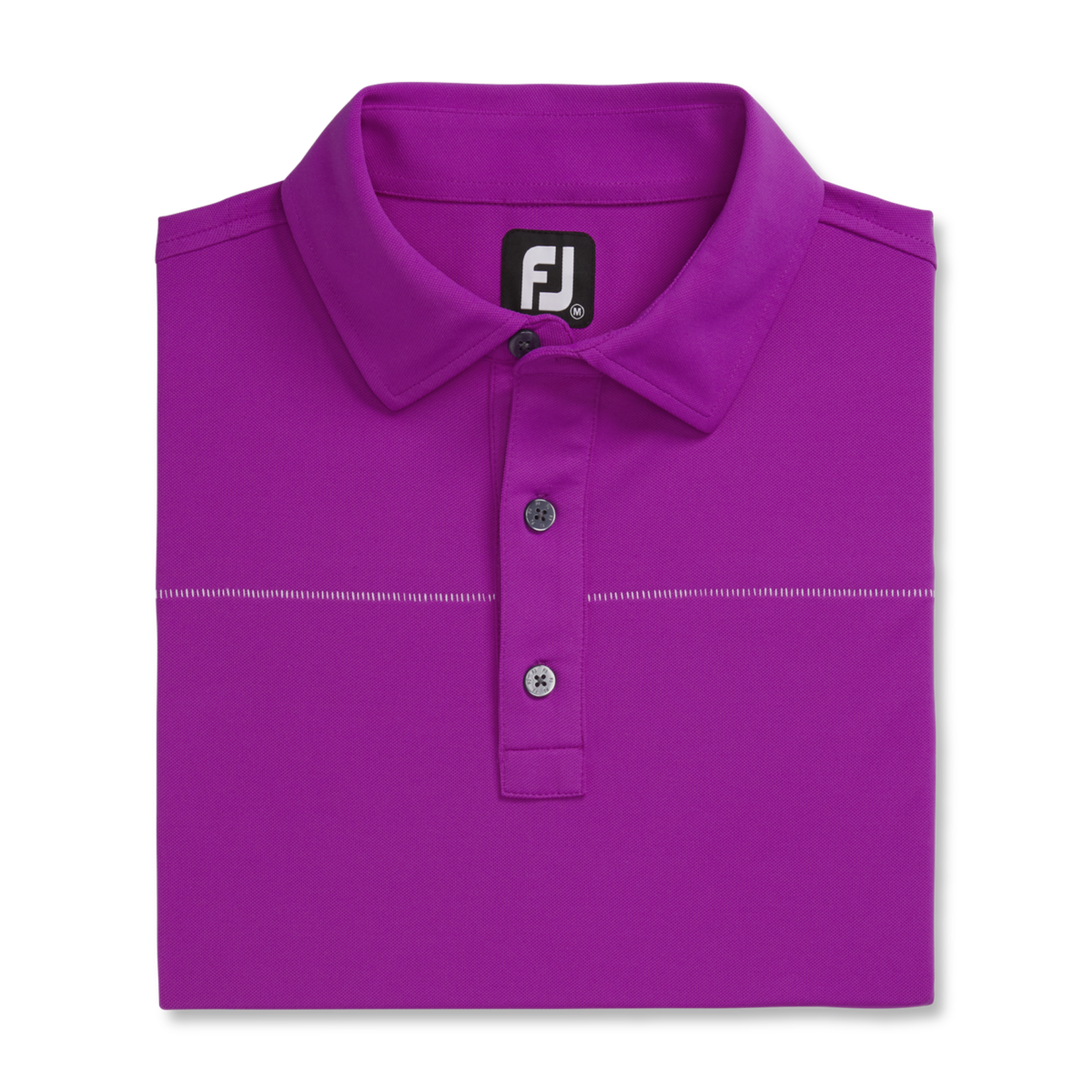 Footjoy FJ Pique Solid Spine Stitch Polo '21