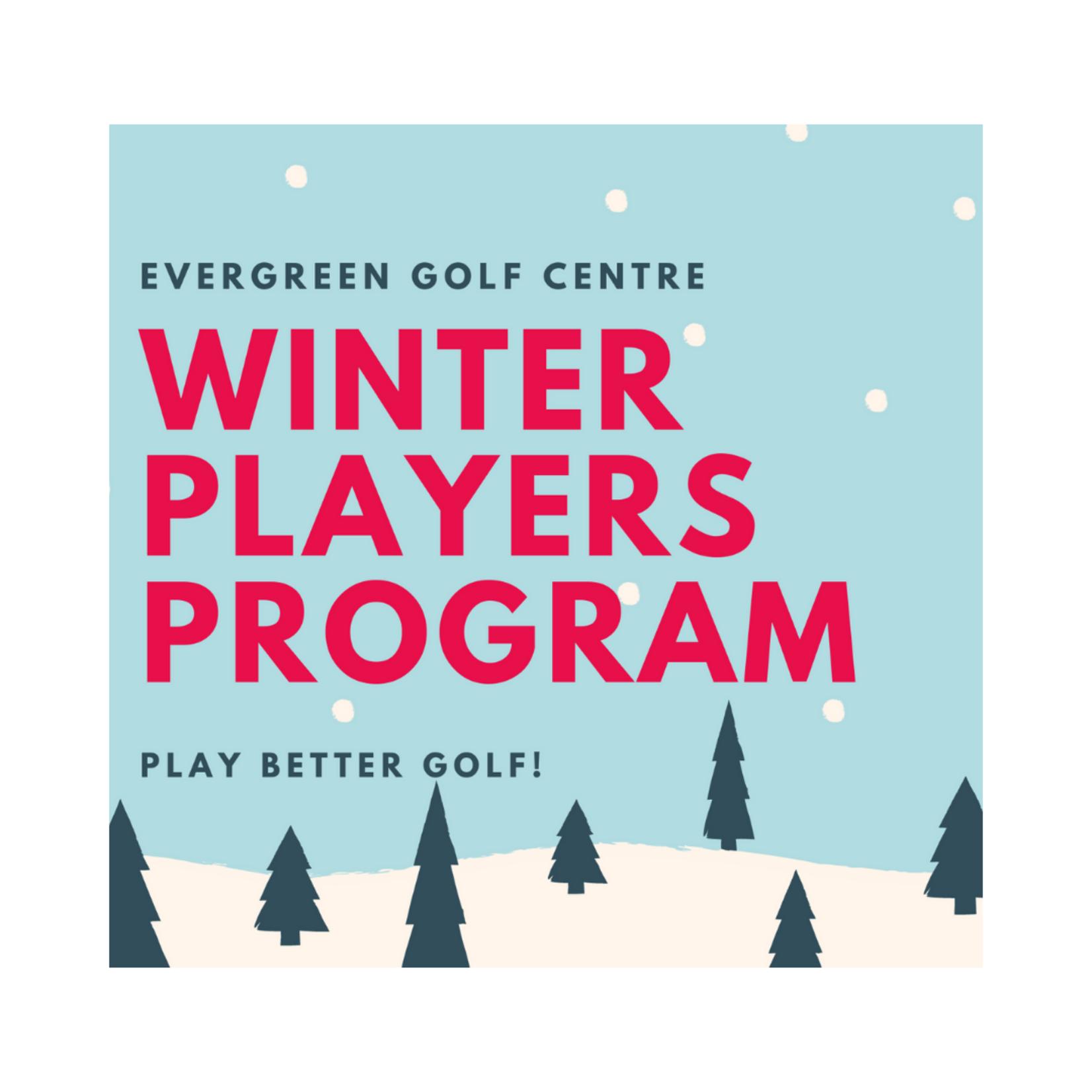 Winter Players Program Tournament Feb 6th - Mar 13th '22