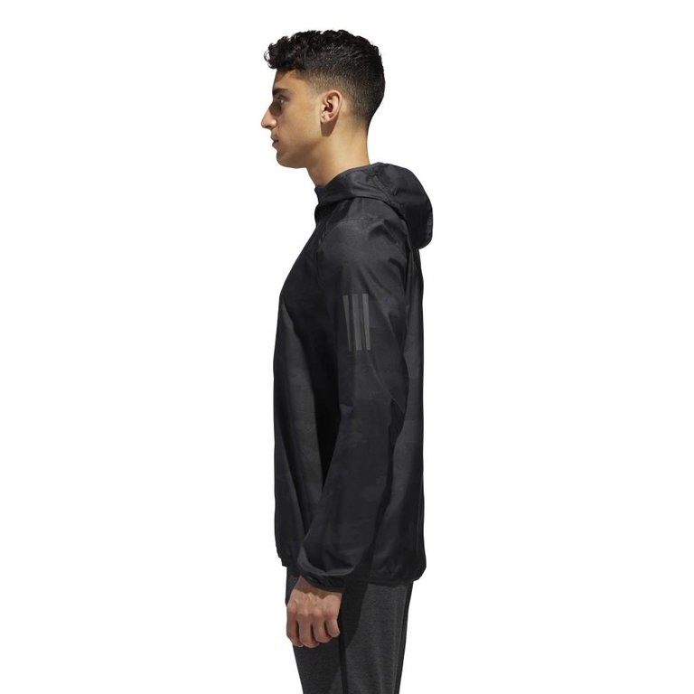 alennuskauppa halvin hinta järkevästi hinnoiteltu Adidas Response Jacket Carbon - BLACK