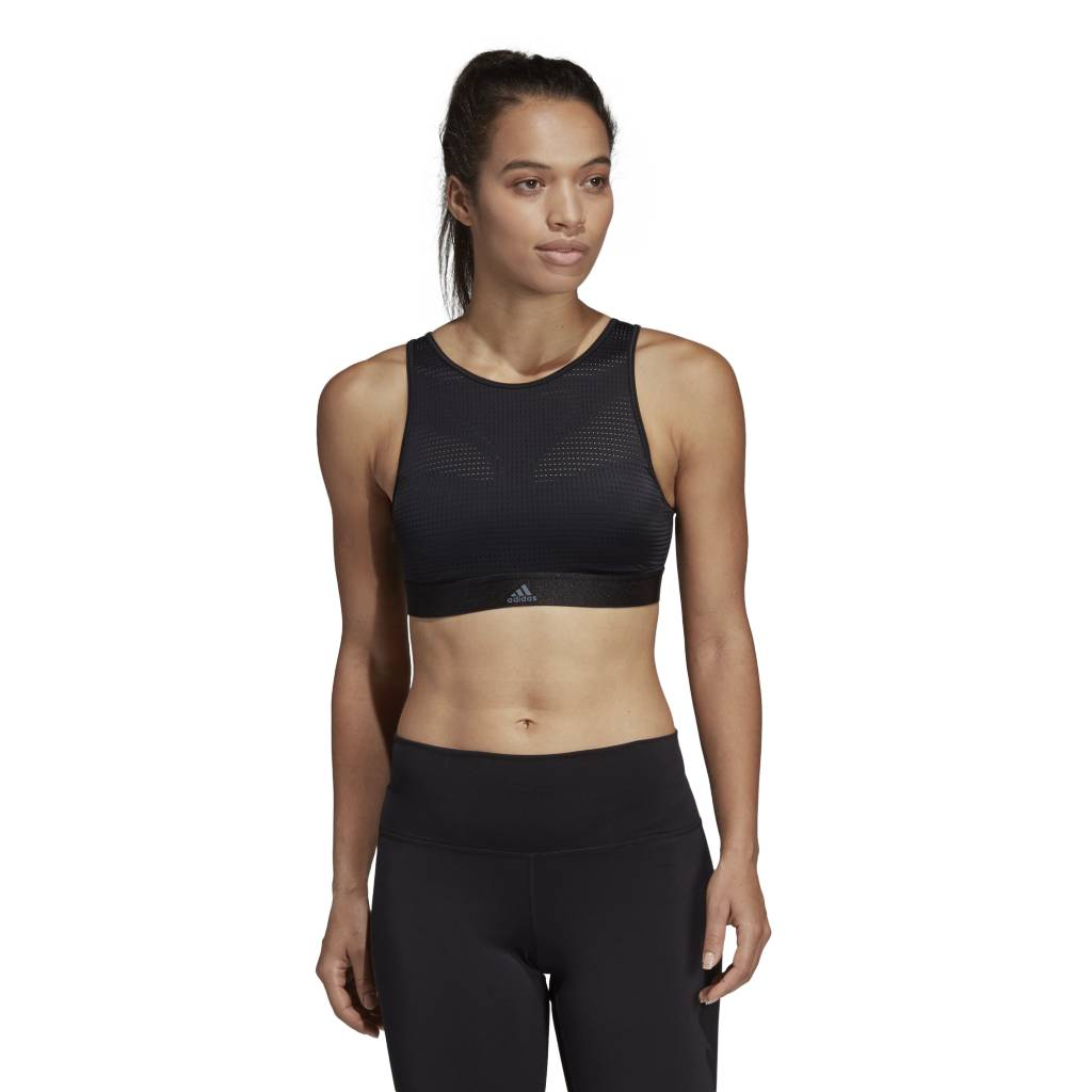 e9e67d8fe37 Adidas Halter Bra 2.0 - BLACK Cultures Athletics - Culture Athletics