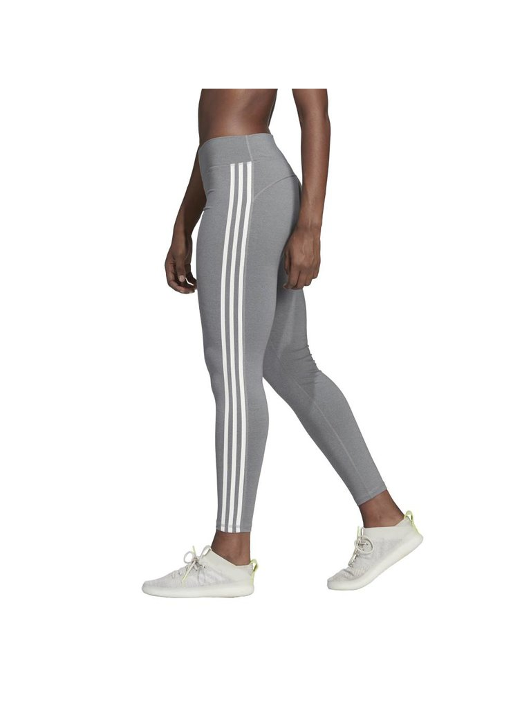 67e6bb436d72d Adidas Believe This 3-Stripes Tights - BLACK/GREY/HEATHER - Culture ...