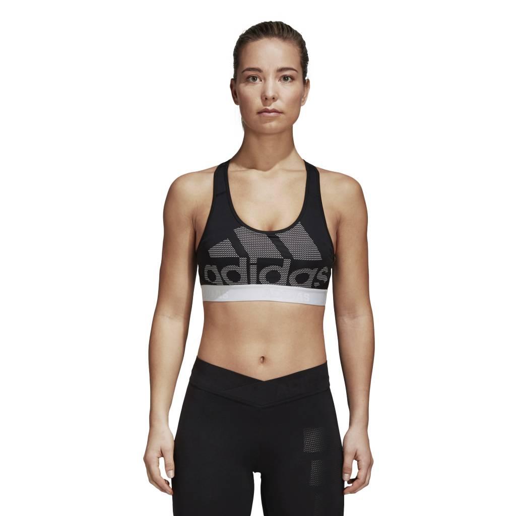 37e0753e40f Adidas Don't Rest Alphaskin Sports Bra - BLACK/WHITE Culture Athletics -  Culture Athletics