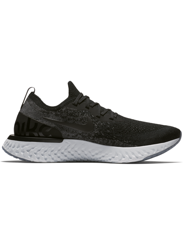 ee242f132d37 W Nike Epic React Flyknit - BLK DK GRY - - Culture Athletics