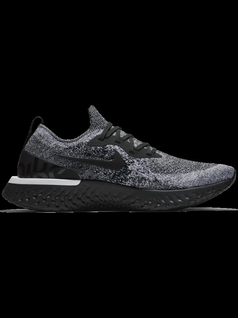 ee24e3518d02c Nike Epic React Flyknit - BLK WHT- - Culture Athletics