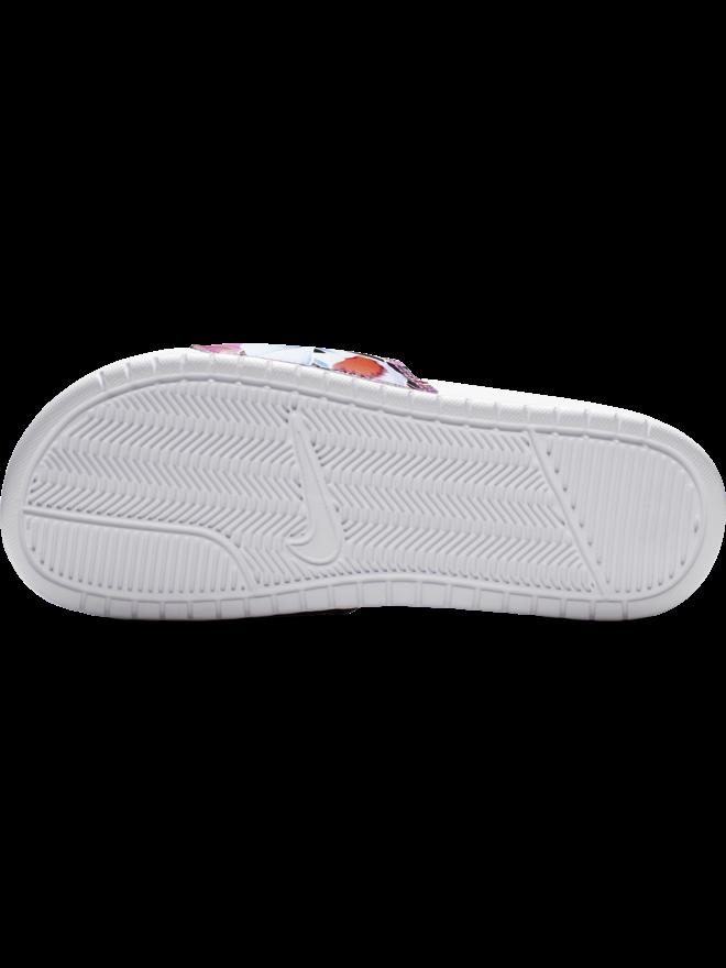deda172bbe00 Nike Womens Nike Benassi JUST DO IT Sandal - White Habanero. 7 ...