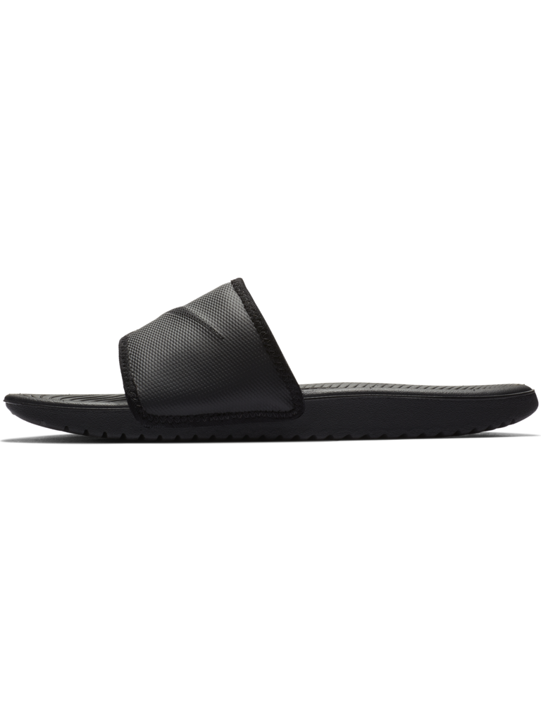 b3ea8eac2498 Mens Nike Kawa Adjustable Slide Sandal - BLK BLK - Culture Athletics