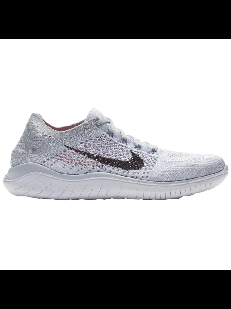 best website 87a2d f3021 Nike W Nike Free RN Flyknit 2018 - WHT