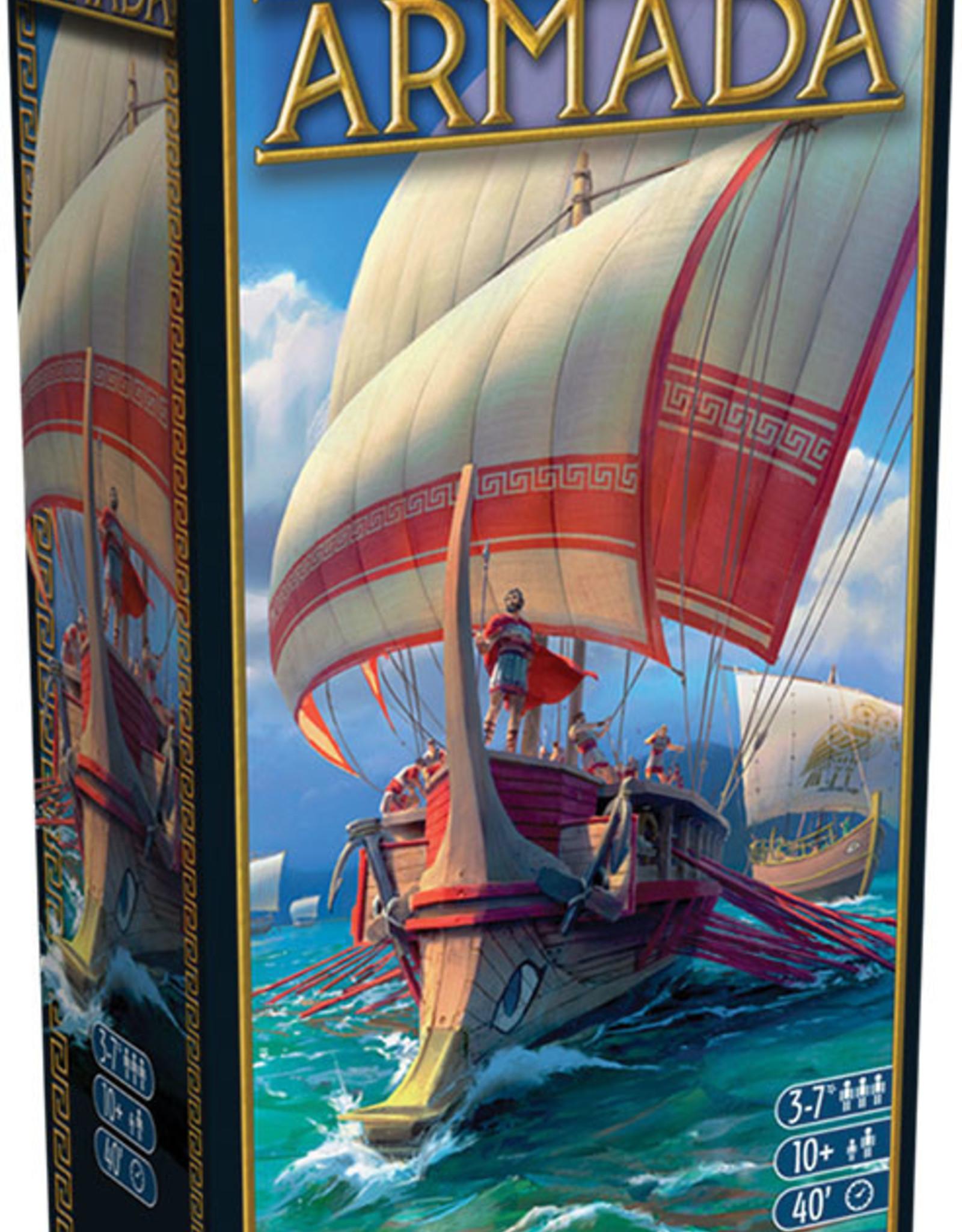 Asmodee USA 7 Wonders: Armada Expansion