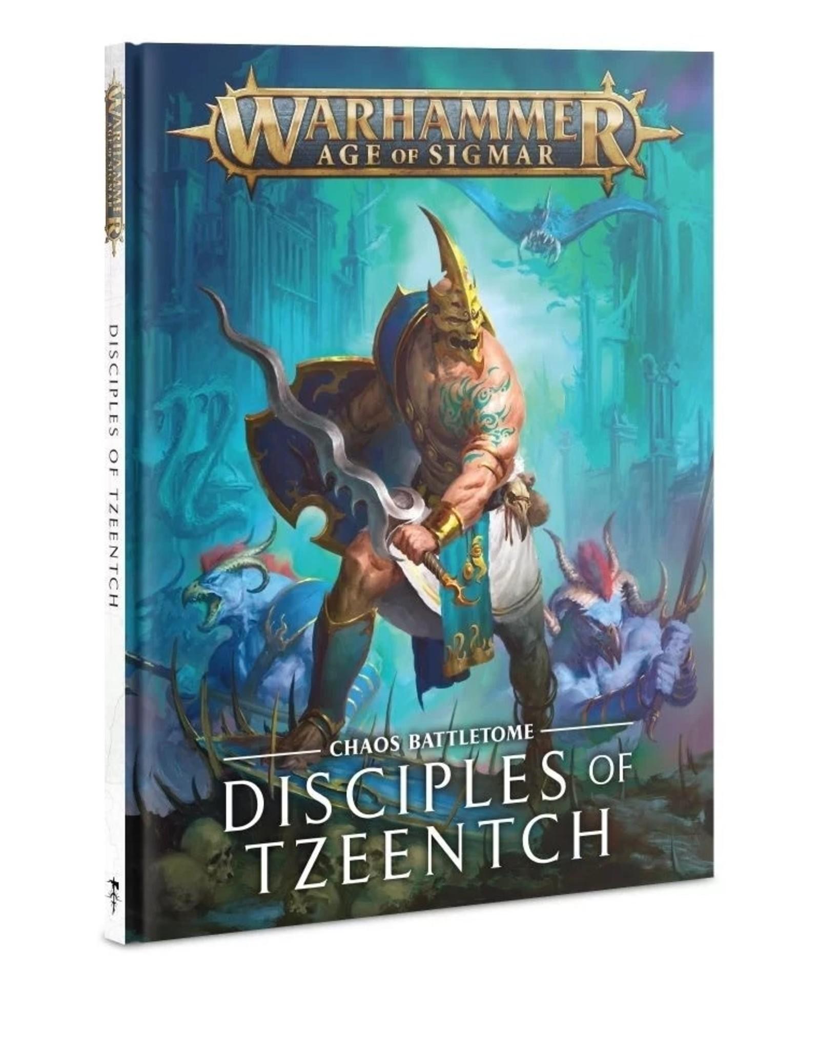 Games Workshop Battletome: Disciples  Of Tzeentch  (HB)