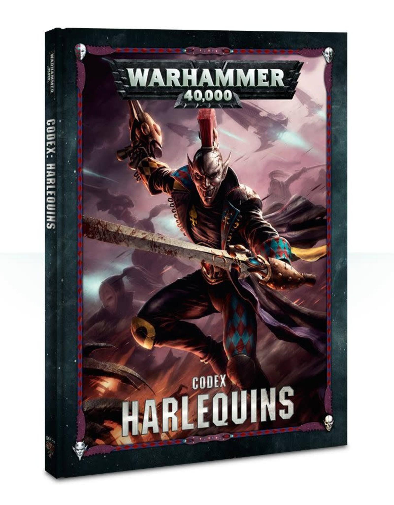 Games Workshop CODEX: HARLEQUINS  (HB) (ENGLISH)