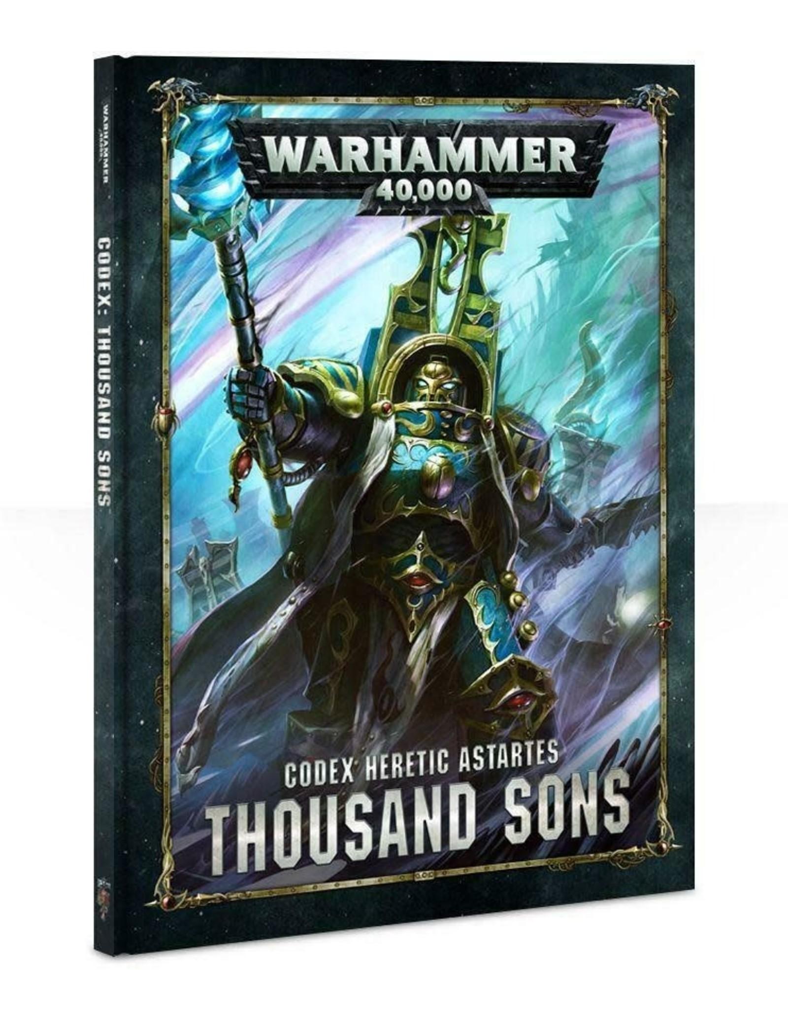 Games Workshop Codex: Thousand Sons
