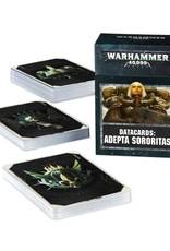 Games Workshop Warhammer 40,000 Datacards:  Adepta Sororitas (ENGLISH)