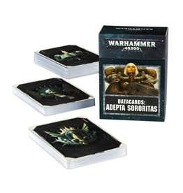 Games Workshop WH40K Datacards:  Adepta Sororitas