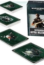 Games Workshop  Warhammer 40,000 Datacards: Astra Militarum (ENGLISH)