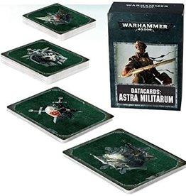 Games Workshop WH40K Datacards:  Astra Militarum