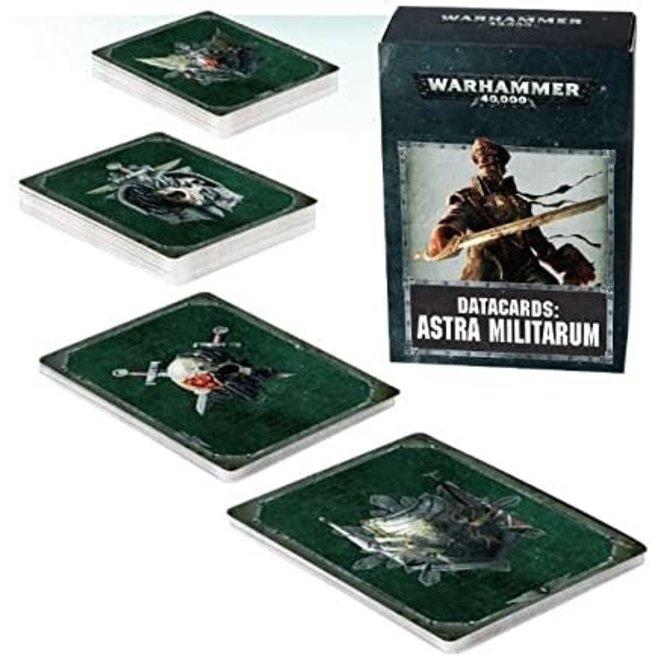 Warhammer 40,000 Datacards: Astra Militarum (ENGLISH)