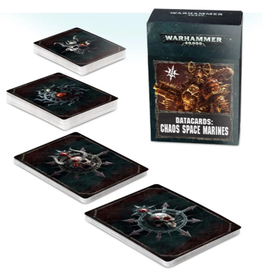 Games Workshop WH40K Datacards:  Chaos Space Marines 2