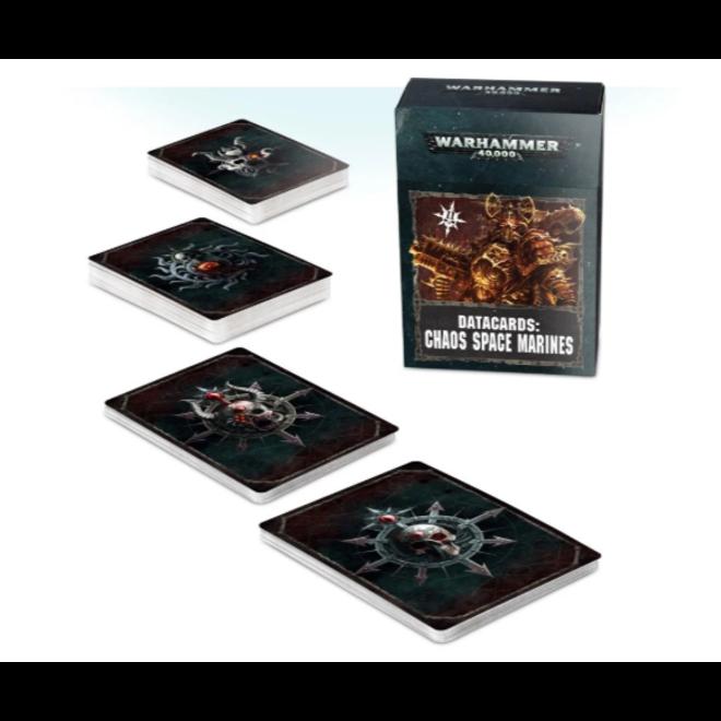 Warhammer 40,000 Datacards:  Chaos Space Marines 2 (ENGLISH)