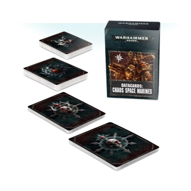 WH40K Datacards:  Chaos Space Marines 2