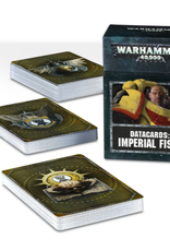 Games Workshop Warhammer 40,000 Datacards:  Imperial Fists (ENGLISH)