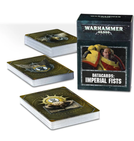 Games Workshop WH40K Datacards:  Imperial Fists