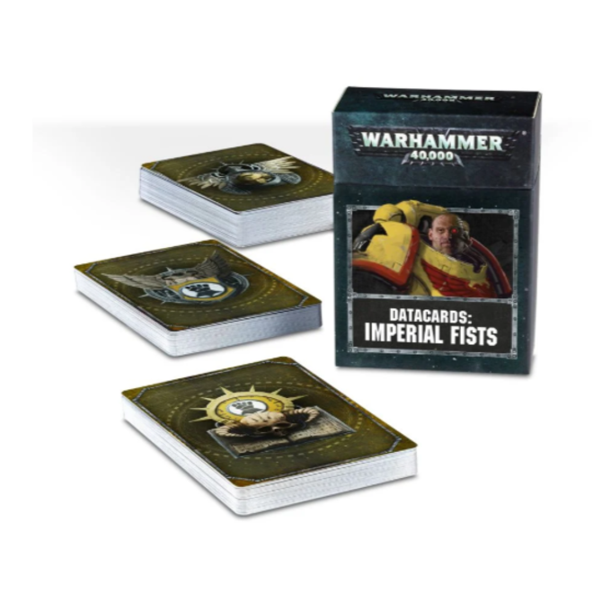 Warhammer 40,000 Datacards:  Imperial Fists (ENGLISH)