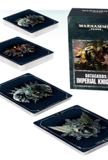 Games Workshop Warhammer 40,000 Datacards:  Imperial Knights (ENGLISH)