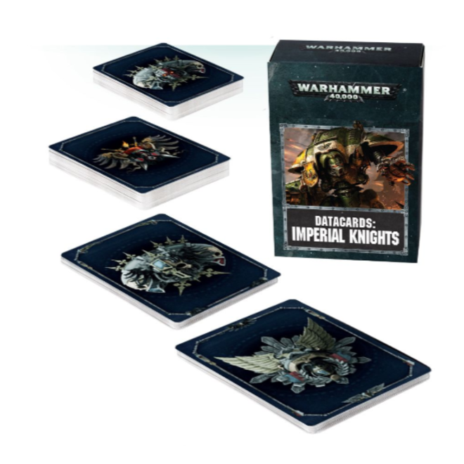 Warhammer 40,000 Datacards:  Imperial Knights (ENGLISH)