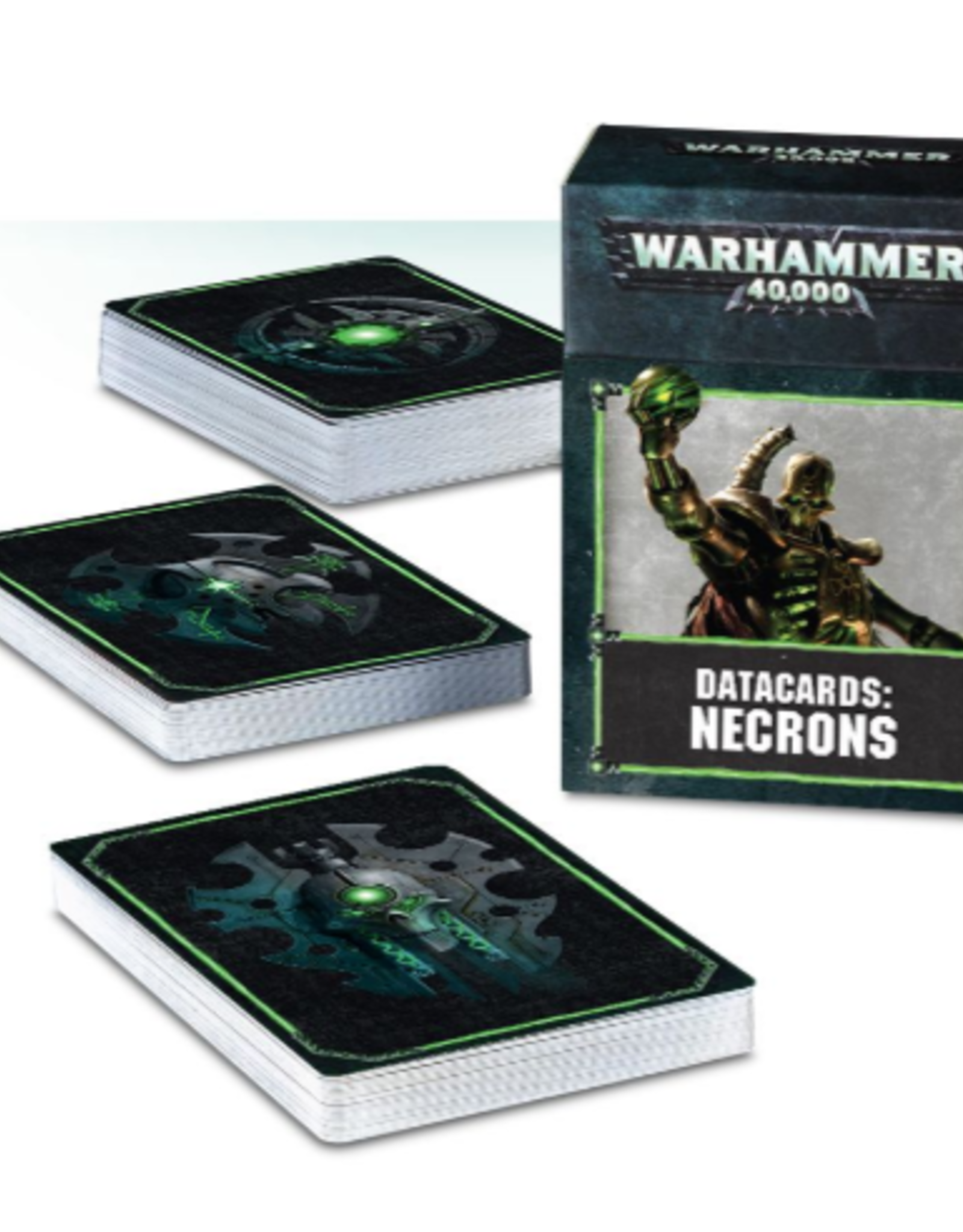 Games Workshop Warhammer 40,000 Datacards:  Necrons  (ENGLISH)