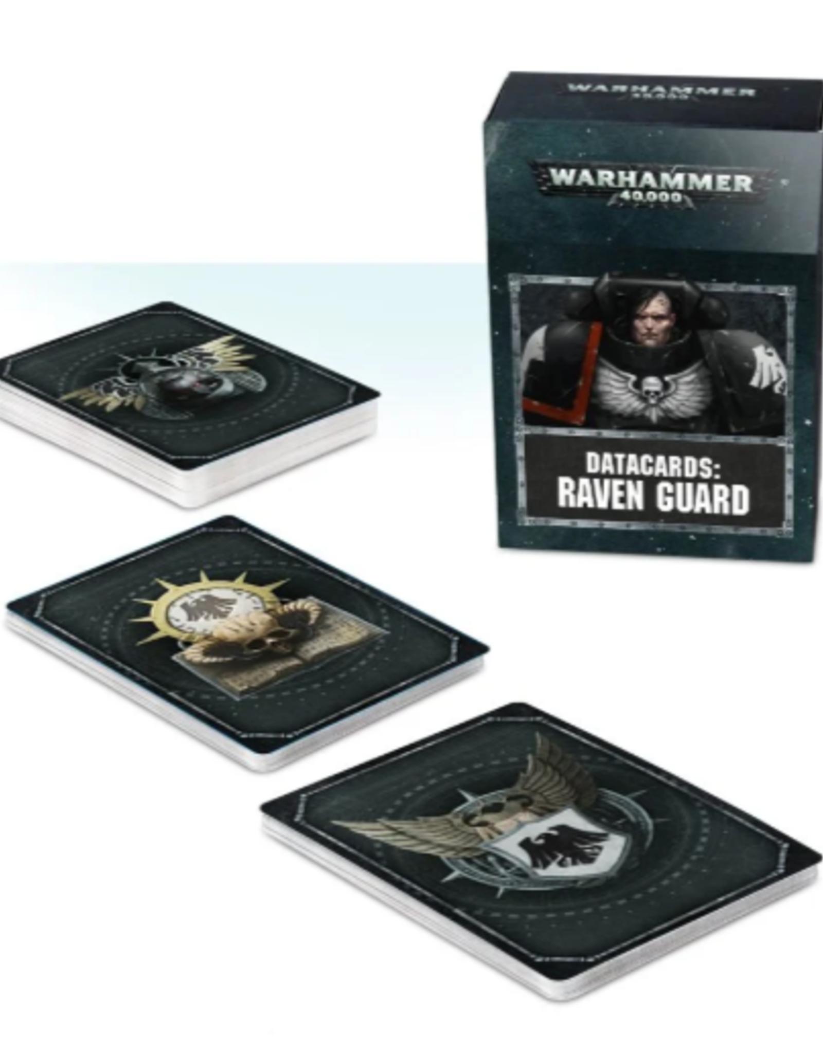 Games Workshop Warhammer 40,000 Datacards:  Raven Guard (ENGLISH)