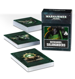 Games Workshop WH40K Datacards:  Salamanders
