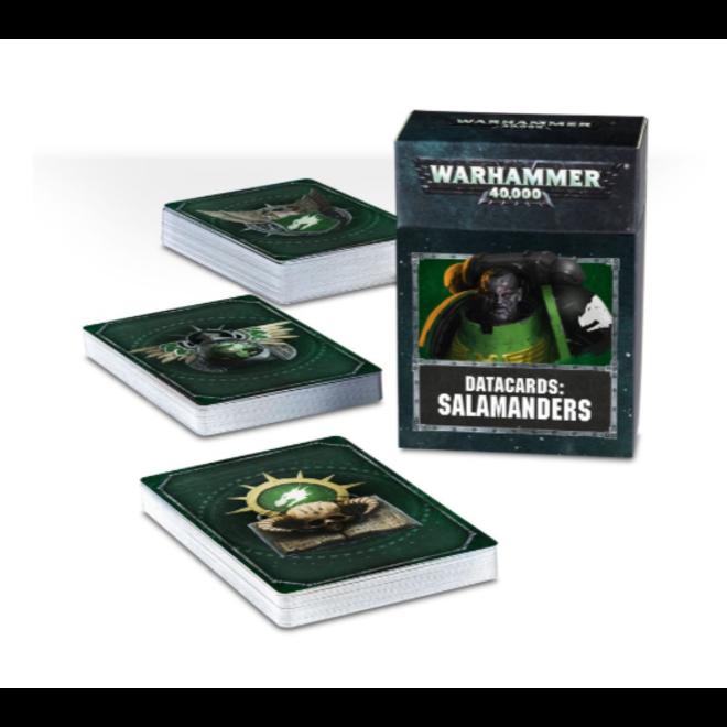 Warhammer 40,000 Datacards: Salamanders  (ENGLISH)