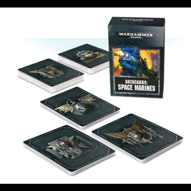Datacards: Space Marines (English)