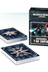 Games Workshop Warhammer 40,000 Datacards:  T'au Empire (ENGLISH)