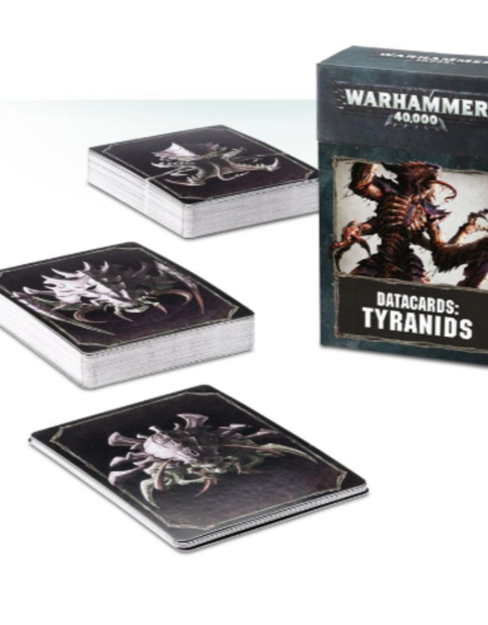 Games Workshop Warhammer 40,000 Datacards: Tyranids (ENGLISH)