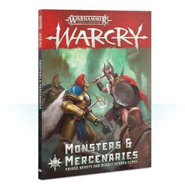 Games Workshop Warcry: Monsters & Mercenaries  (English)