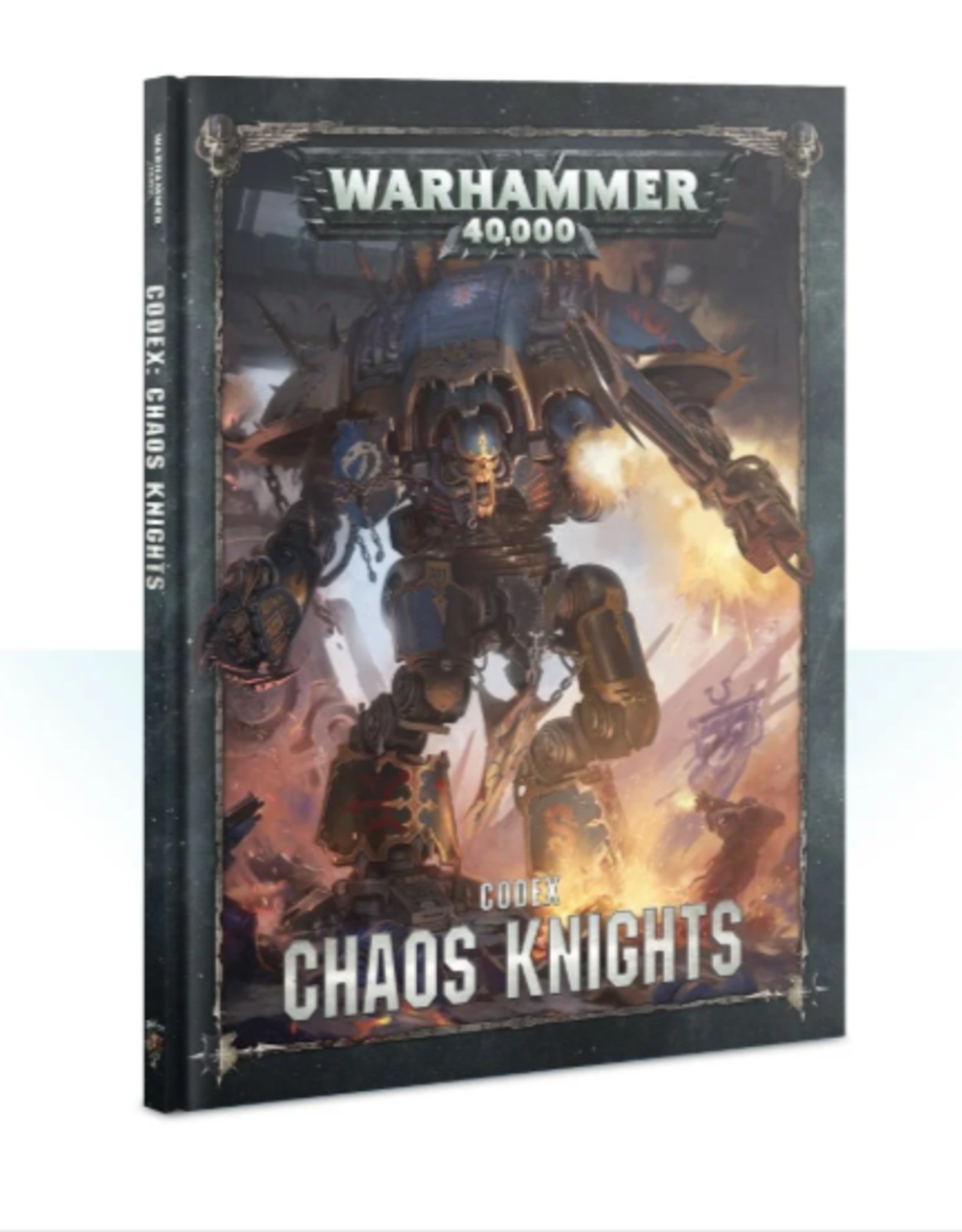 Games Workshop Codex: Chaos Knights (HB) (English)