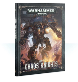 Games Workshop Codex: Chaos Knights (HB) (English)